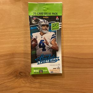 2020 Absolute Football value pack—20 Cards!!! for Sale in McCleary, WA