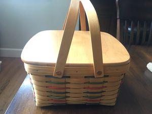 Longaberger 2000 Cake Basket set for Sale in Beaverton, OR