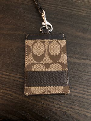 Coach brand card/ID holder for Sale in San Diego, CA