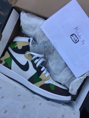 DS Laser Camo Jordan 1's for Sale in Brentwood, MD