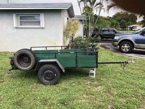 Utility trailer 4x8 custom made for Sale in Hollywood, FL