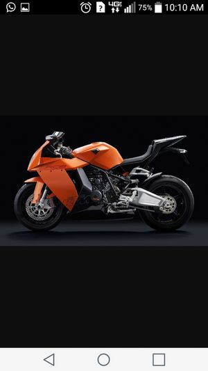 KTM RC8 1190 CC. Moto. Motorcycle. Sport bike. Honda. Suzuki. Yamaha. for Sale in Sun City, AZ