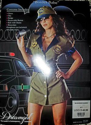 Sexy Womens Border Patrol Police DreamGirl Halloween Costume Ladies Medium for Sale in Pinellas Park, FL