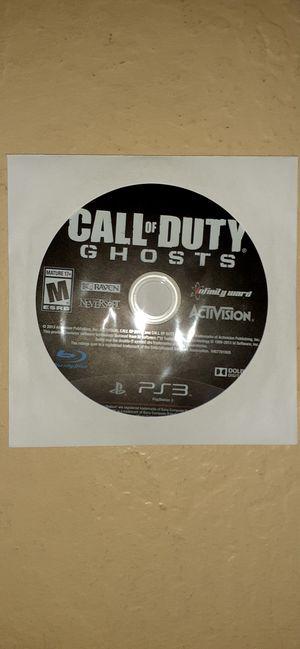 PS3 COD Ghosts for Sale in Buckeye, AZ