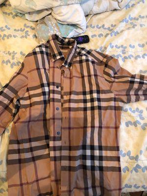 Burberry shirt for Sale in Hamilton Township, NJ