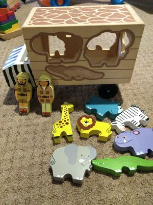 Lot of Melissa and Doug wooden toys for Sale in City of Manassas, VA
