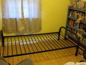 Steel Bed frame for single mattress for Sale in Farmville,  VA