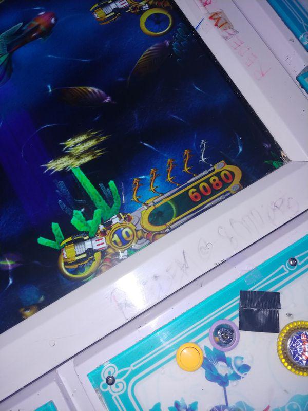 Fish table/slots.....jammer €mp