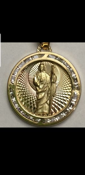 10K Solid Gold Pendant ( San Judas) for Sale in Miami Gardens, FL
