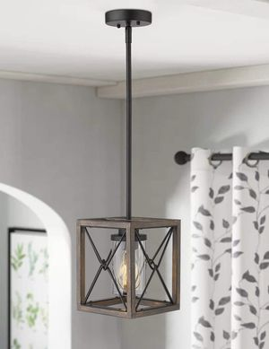 New Farmhouse Hanging Pendant Light Fixture, Chandelier. Kitchen, Dining, Bedroom, Foyer, Entryway. for Sale in Las Vegas, NV