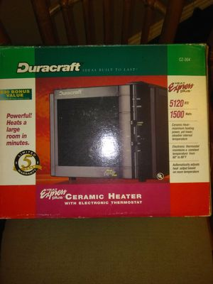 Duracraft heat express for Sale in Tampa, FL