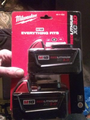 Milwaukee M18 Red Lithium XC30 Battery for Sale in Portland, OR