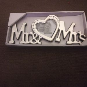Mr And Mrs Photo Frame for Sale in Oklahoma City, OK