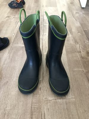 Kid's rain boots size 1 for Sale in Newark, CA