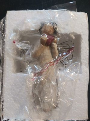 Vintage 2000 willow tree Angel of the heart for Sale in Powder Springs, GA