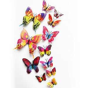 12 Pcs 3D Butterfly Wall Stickers Room Home Decorations (Open Box) for Sale in Phoenix, AZ