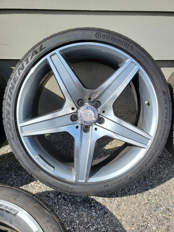 "20"" Mercedes AMG Wheels"