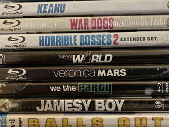 Blu-ray Movie Bundle - (10) new and sealed for Sale in Poinciana,  FL