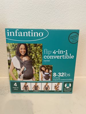 Infantino baby carrier 4-in-1 for Sale in Anaheim, CA