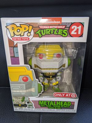Funko Pop Retro Toys TMNT METALHEAD #21 Vinyl Figure Collectible Bobblehead Toy Doll Target Exclusive for Sale in San Diego, CA