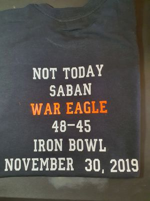 New iron bowl design by me for Sale in Eastaboga, AL