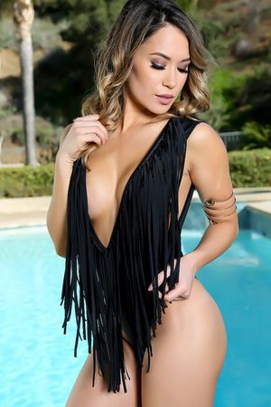 One piece Fringe Swimsuit for Sale in Durham, NC