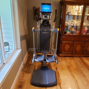 Precor elliptical with touch screen monitor for Sale in Enumclaw, WA