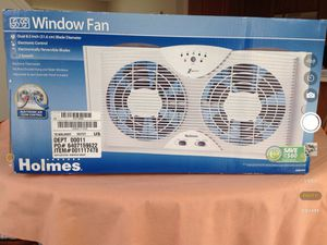 Holmes Window Fan With Electronic Air Flow for Sale in Centreville, VA