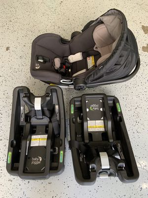Baby Jogger City Go Car Seat with Extra Base for Sale in Hayward, CA