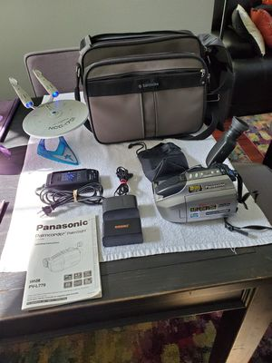 Panasonic Palm-Camcorder for Sale in Alta Loma, CA
