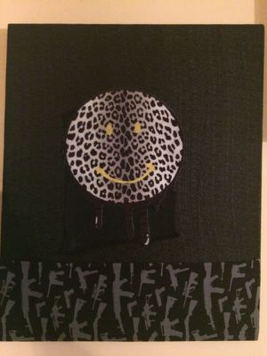 """""""Warhead"""" fabric painting by local artist for Sale in Nashville, TN"""