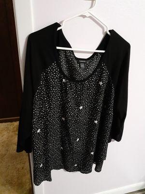 Torrid Blk & Wht Star Shirt for Sale in Longview, TX