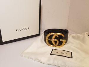 Gucci Snake Buckle Black Leather Belt for Sale in Queens, NY