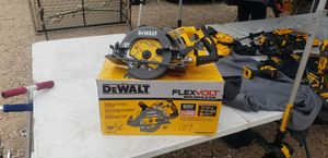 Dewalt saw 60v tool only for Sale in Alvarado, TX