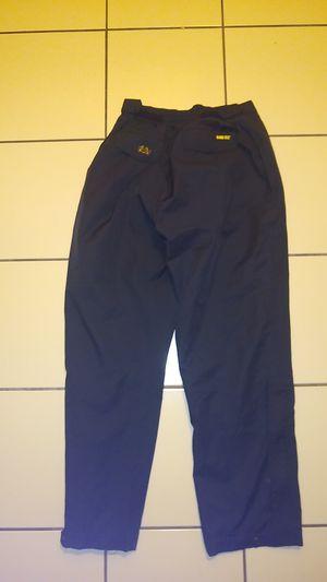 Men's medium 32-34x 32L, Gore-Tex waterproof rain snow shell golf hiking pants, tourney GoreTex, black nike, rei, Columbia, patagonia, Eddie bauer for Sale in San Diego, CA