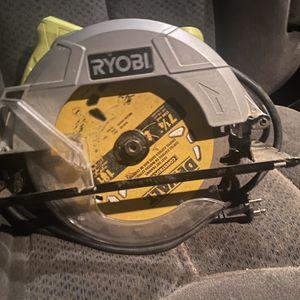 Ryobi Electric Circular Saw w/Dewalt Blade for Sale in Levittown, PA