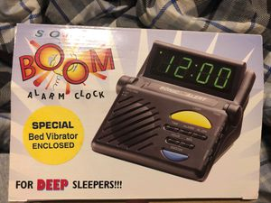 Sonic BOOM alarm clock for Sale in Riverdale, IA