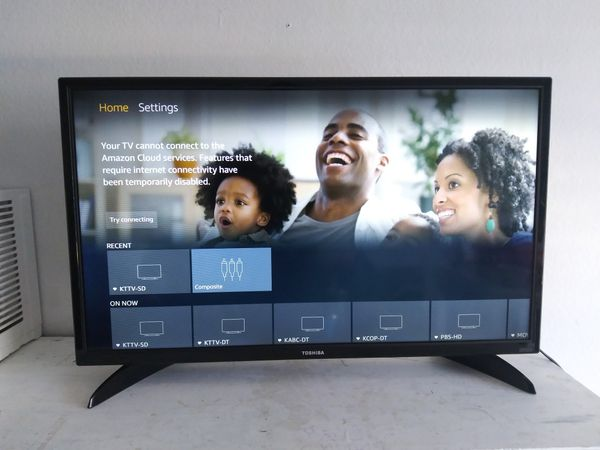 "HD Smart LED TV Toshiba ""32"" inch Amazon Fire TV Edition - Black"