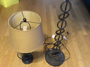 Set of Two Lamps for Sale in Cypress, TX