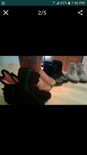 Girls size 10 boot and shoe lot for Sale in New Franklin, OH