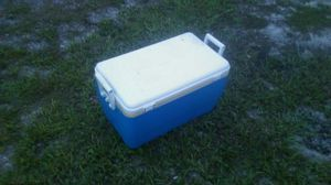 Coleman 48-Quart Blue Chest Cooler for Sale in Tampa, FL