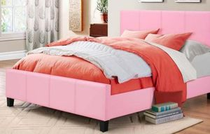 🌺🌺SPECIAL] Fuschia Pink Twin Panel Bed |🌺🌺 B650 for Sale in Silver Spring, MD