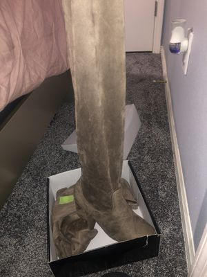 heel thigh high boots for Sale in Brandon, FL