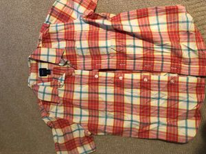 Boys plaid button up size 8 for Sale in Costa Mesa, CA