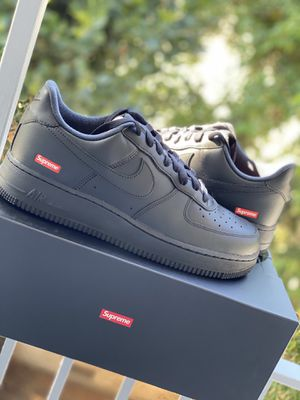 Supreme Air Force 1 Low black size 9 for Sale in Beverly Hills, CA