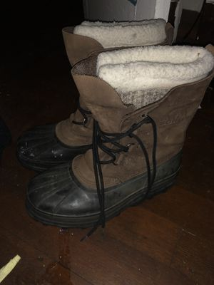Sorel leather boots size 10 for Sale in San Diego, CA
