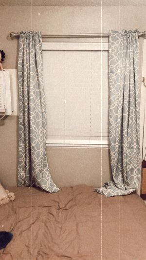 Light blue blackout curtains for Sale in Chandler, AZ