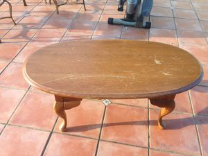 Solid wood coffee table (can be sanded to look new) for Sale in Hialeah, FL