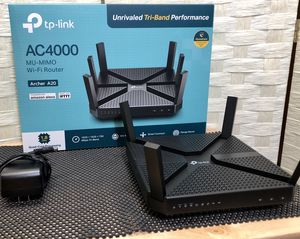 TP-Link AC4000 Smart WiFi Router - MIMO for Sale in Kennesaw, GA