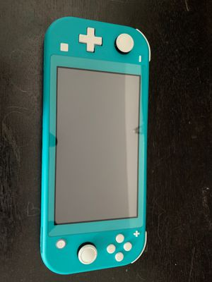 Nintendo switch lite , used once for Sale in Everett, MA